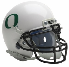 Oregon Ducks 2009 White Schutt Throwback Mini Helmet