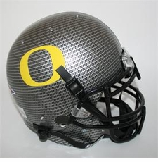 Oregon Ducks 2010 Carbon Fiber Schutt Authentic Full Size Helmet