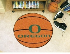 "Oregon Ducks 27"" Basketball Floor Mat"