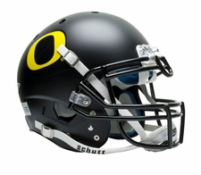 Oregon Ducks Black Schutt XP Full Size Replica Helmet