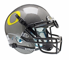 Oregon Ducks Carbon Fiber Schutt XP Authentic Helmet