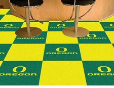 "Oregon Ducks Carpet Tiles - 20 18""x18"" Tiles"