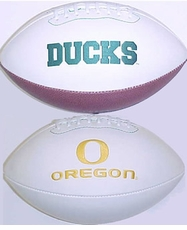Oregon Ducks Full Size Signature Embroidered Football