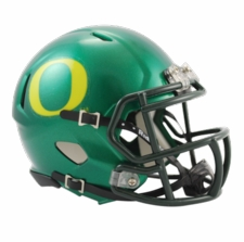 Oregon Ducks Green Riddell Speed Mini Helmet