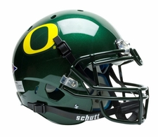 Oregon Ducks Green Schutt XP Full Size Replica Helmet
