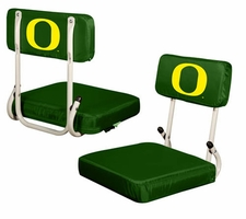 Oregon Ducks Hard Back Stadium Seat