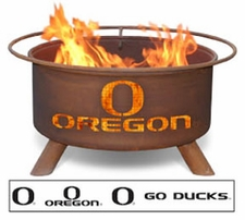 Oregon Ducks Outdoor Fire Pit