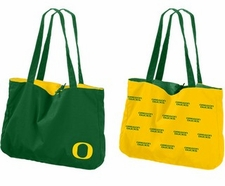 Oregon Ducks Reversible Tote Bag