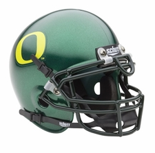 Oregon Ducks Green Schutt Authentic Mini Helmet