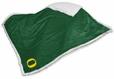 Oregon Ducks Sherpa Blanket