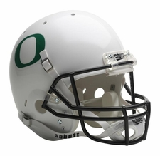 Oregon Ducks White Schutt Full Size Replica Helmet