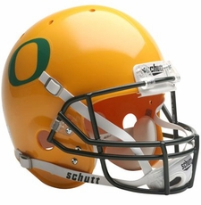 Oregon Ducks Yellow Schutt Full Size Replica Helmet