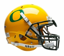 Oregon Ducks Yellow Schutt XP Full Size Replica Helmet