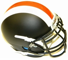 Oregon State Beavers Black Schutt XP Authentic Mini Helmet