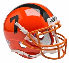 Oregon State Beavers Orange #7 Schutt XP Authentic Mini Helmet