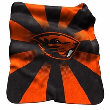 Oregon State Beavers Raschel Throw