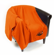 Oregon State Beavers Sweatshirt Throw Blanket