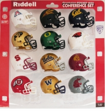 Pac-12 Pocket Pro Conference Helmet Set, 2013