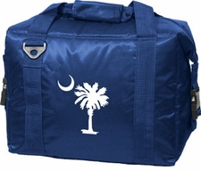 Palmetto (South Carolina) Blue 12 Pack Small Cooler