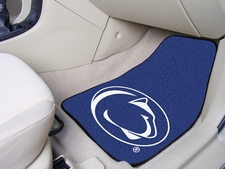Penn State  Nittany Lions 2-Piece Carpeted Car Mats Front Set