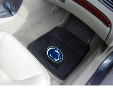 Penn State Nittany Lions 2-Piece Heavy Duty Vinyl Car Mat Set