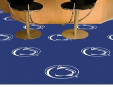 Penn State Nittany Lions Carpet Tiles - 20 18x18 Square Tiles