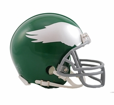 Philadelphia Eagles 1959-69 Throwback Replica Mini Helmet