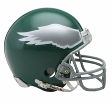 Philadelphia Eagles 1974-95 Throwback Replica Mini Helmet