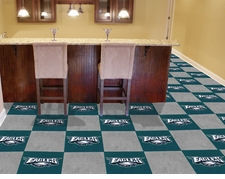 "Philadelphia Eagles Carpet Tiles - 20 18"" x 18"" Tiles"
