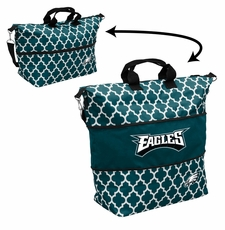 Philadelphia Eagles  - Expandable Tote (patterned)