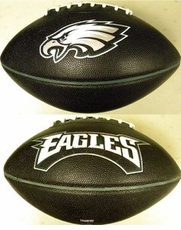 Philadelphia Eagles Fotoball PT6 Full Size Black Football
