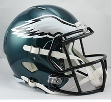 Philadelphia Eagles Full-Size Deluxe Replica Speed Helmet