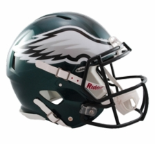 Philadelphia Eagles Revolution Speed Riddell Authentic Helmet