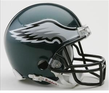 Philadelphia Eagles Riddell Replica Mini Helmet