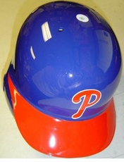 Philadelphia Phillies Blue Alternate Right Flap Rawlings Authentic Batting Helmet