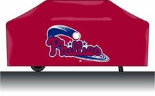 Philadelphia Phillies Deluxe Barbeque Grill Cover