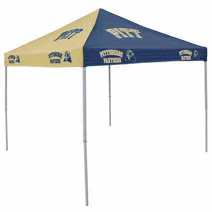 Pittsburgh Panthers Navy / Gold Logo Canopy Tailgate Tent