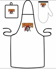 Pittsburgh Pirates Cooking / Grilling Apron Set
