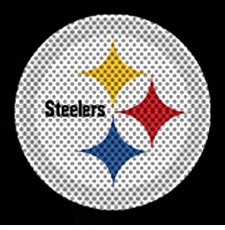 Pittsburgh Steelers 12 x 12 Die-Cut Window Film Decal