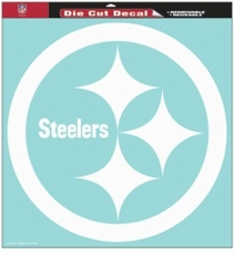 Pittsburgh Steelers 18 x 18 Die-Cut Decal