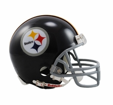 Pittsburgh Steelers 1963-76 Throwback Replica Mini Helmet