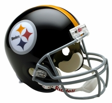Pittsburgh Steelers 1963-76 Throwback Riddell Deluxe Replica Helmet