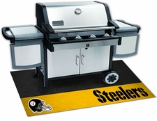 Pittsburgh Steelers 26x42 Grill Mat