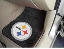 Pittsburgh Steelers Car Mats 2 Piece Front Set