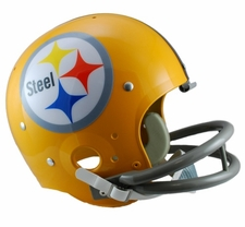 Pittsburgh Steelers Classic TK 1962 Throwback Riddell Replica Helmet