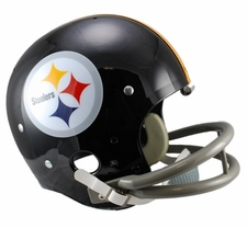 Pittsburgh Steelers Classic TK 1963-76 Throwback Riddell Replica Helmet