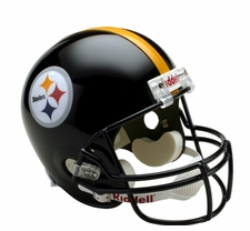 Pittsburgh Steelers Full-Size Deluxe Replica Helmet