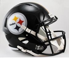 Pittsburgh Steelers Full-Size Deluxe Replica Speed Helmet