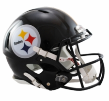 Pittsburgh Steelers Revolution Speed Riddell Authentic Helmet