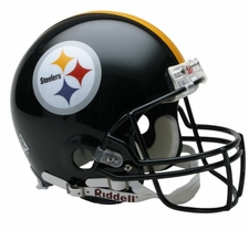 Pittsburgh Steelers Riddell Full Size Authentic Helmet